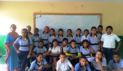Alumnos de Maicao