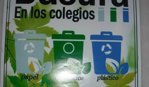 Cero basuras en los colegios y escuelas